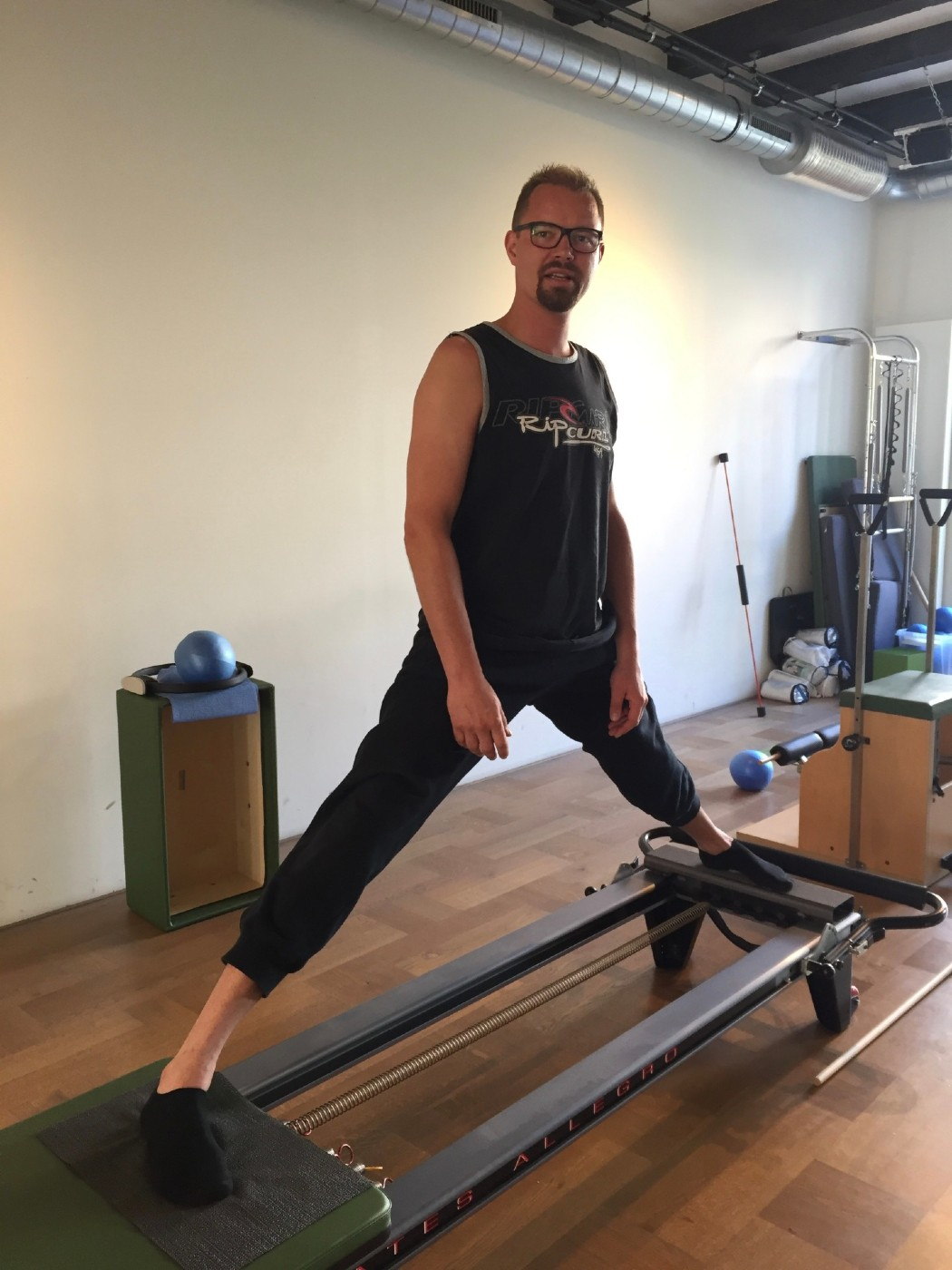 Power Pilates voor mannen